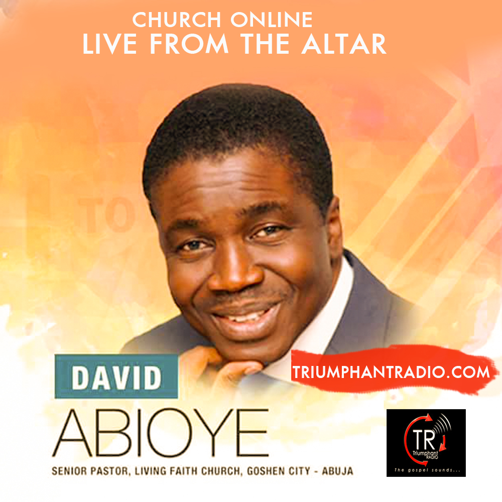 Pictures Of David Abioye Jet: LIVE FROM THE ALTAR: JOIN THE CHURCH ONLINE TODAY WITH
