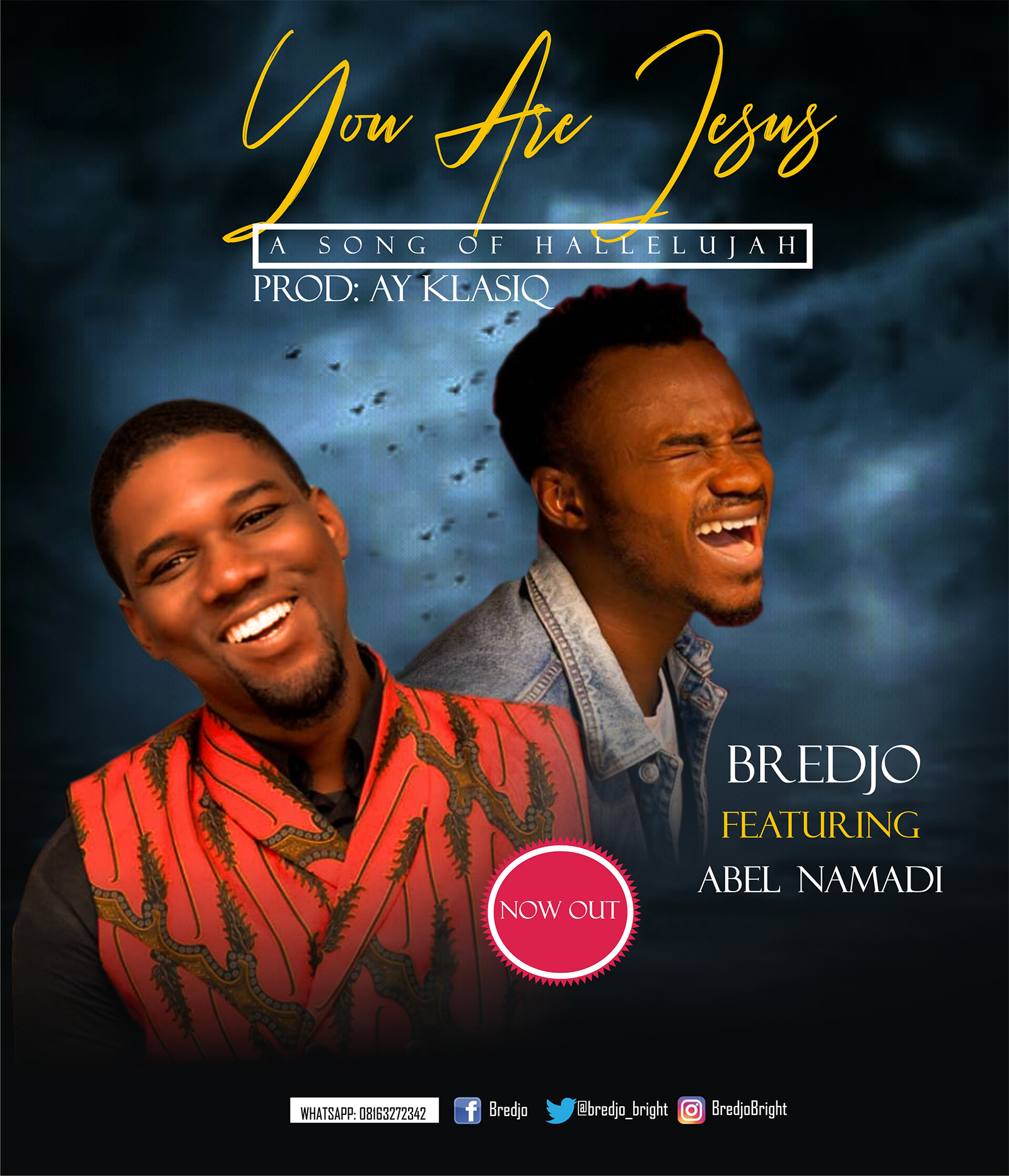 BREDJO - ''YOU ARE JESUS'' || FEAT. ABEL NAMADI || @Bredjo_bright