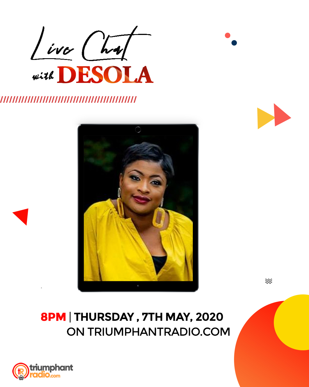 Live Chat with Desola