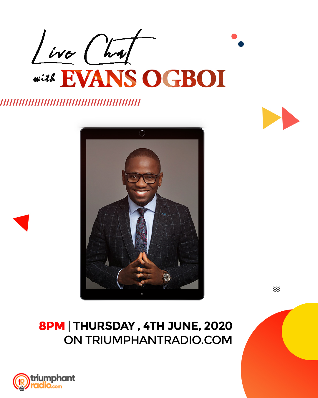 Live Chat with Evans Ogboi | @evansogboi